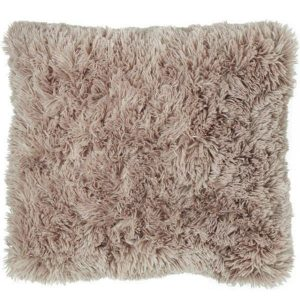 Cuddly Fluffy Cushion Cover - Natural
