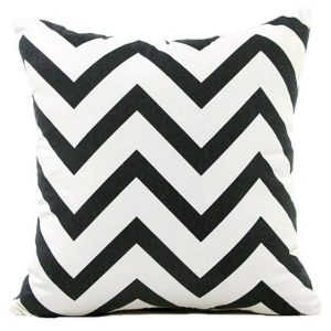 Geometric Wave Stripe Zigzag Cushion Cover