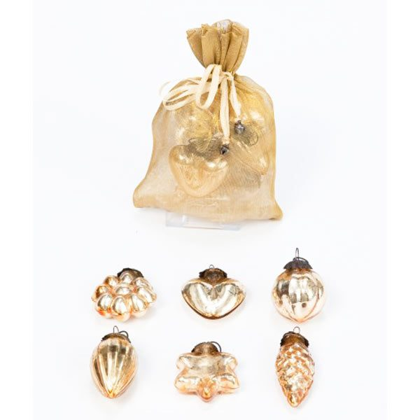 Gold Baroque Mini Decorations
