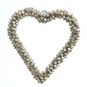 Heart Decoration With Bells