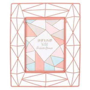 Pink Geo Wire Frame