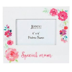 Floral Fusion Mum Photo Frame