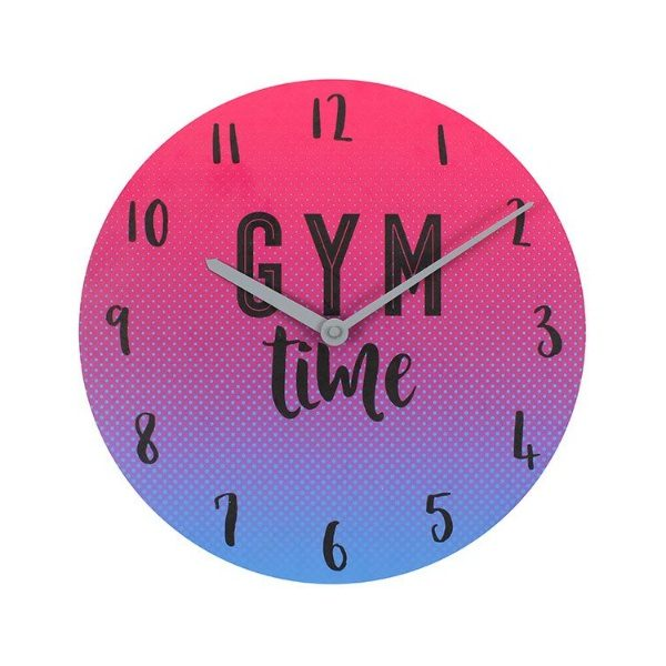 Gym Time Wall Clock
