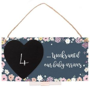 Baby Countdown Wall Plaque
