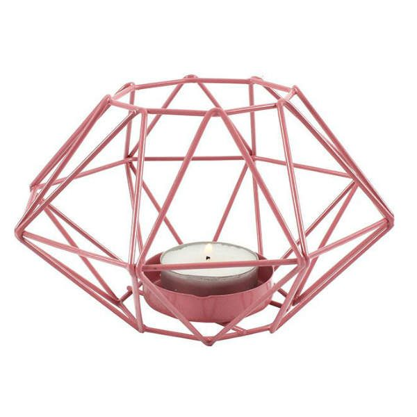 Geometric Wire Candle Holder - Kalaful Home Decor, Home Accessories & Gifts