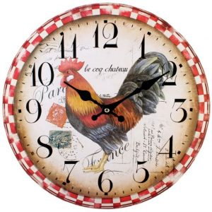 Cockerel Wall Clock