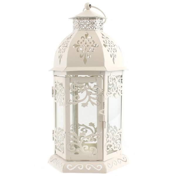Cream Lantern