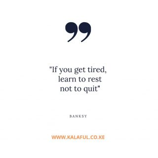 It's ok to step back and review things and approach them with a fresh eye. Happy Tuesday www.kalaful.co.ke #motivation #tuesdaymotivation #happytueday #kalaful_decor #rest #nairobikenya